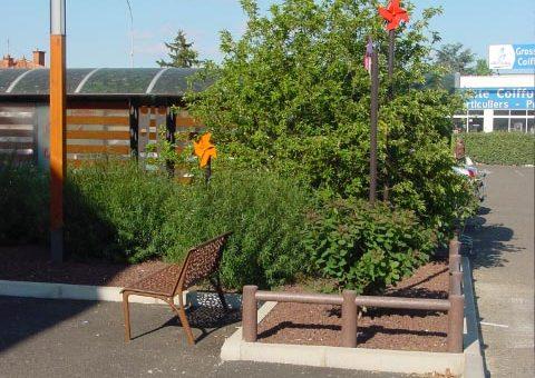 Végétation et mobilier