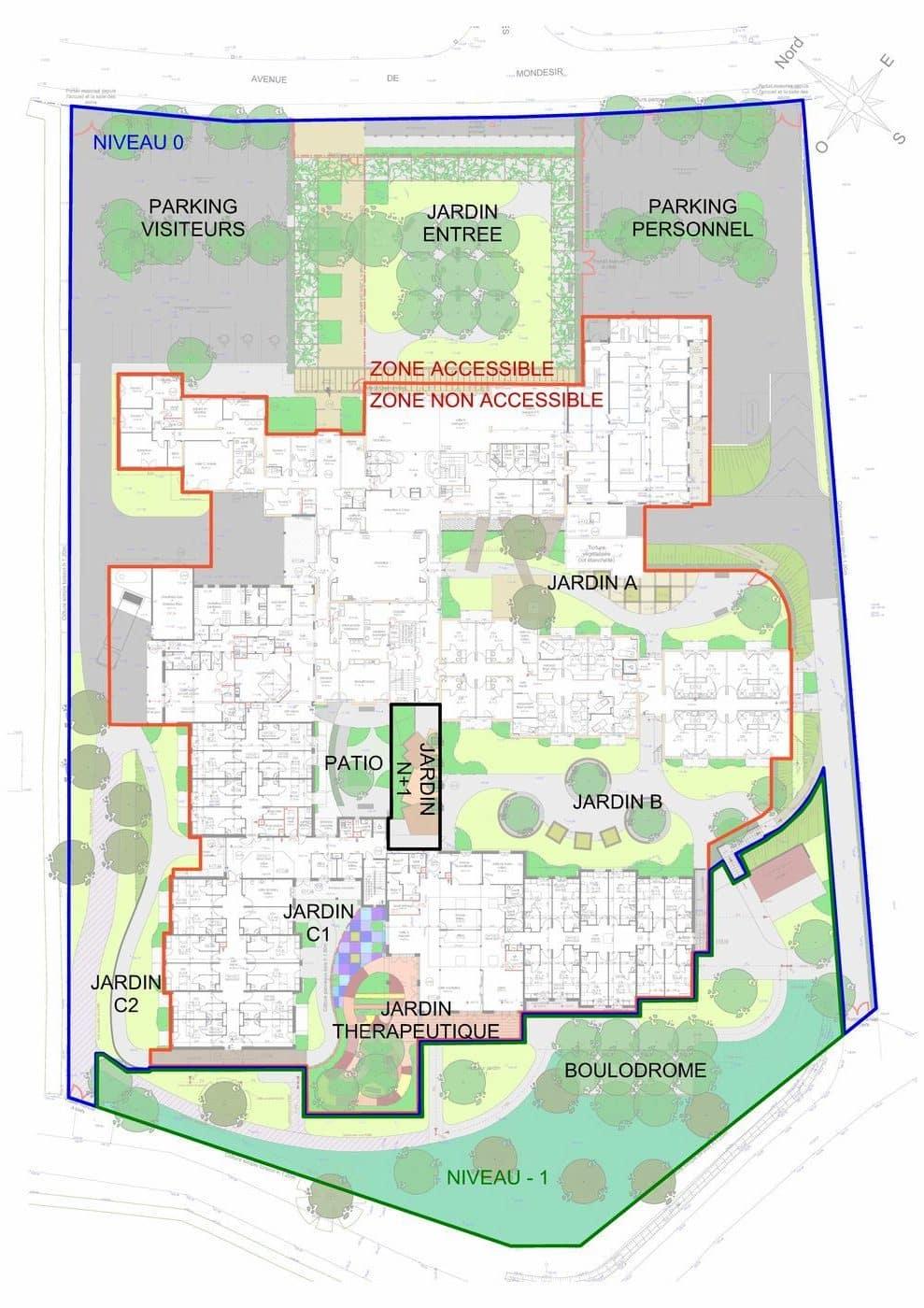 Plan de zonage