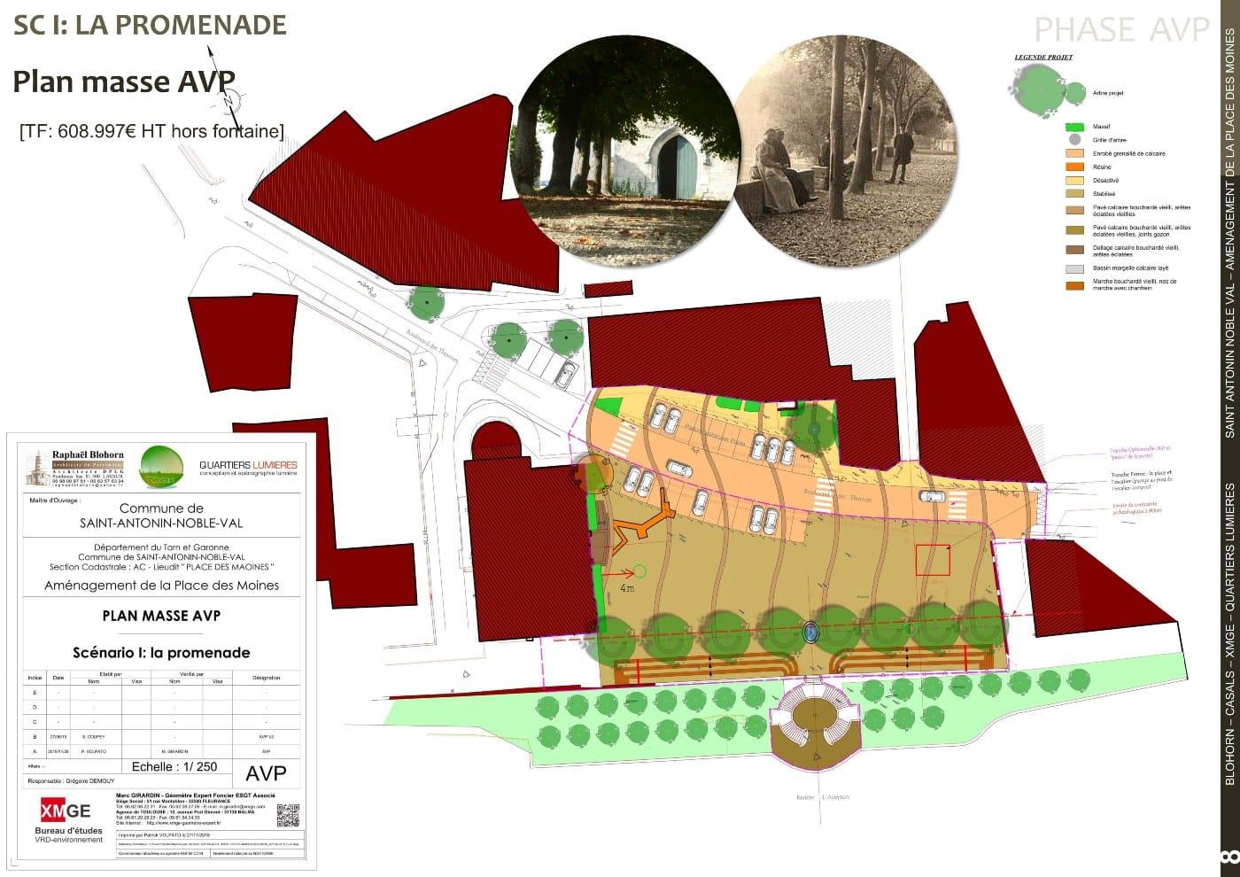 Phase AVP plan masse scénario 1