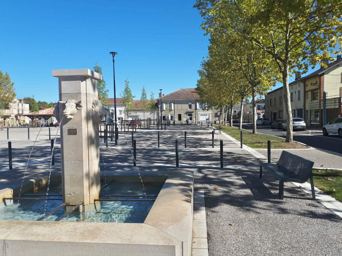 Fontaine ornementale