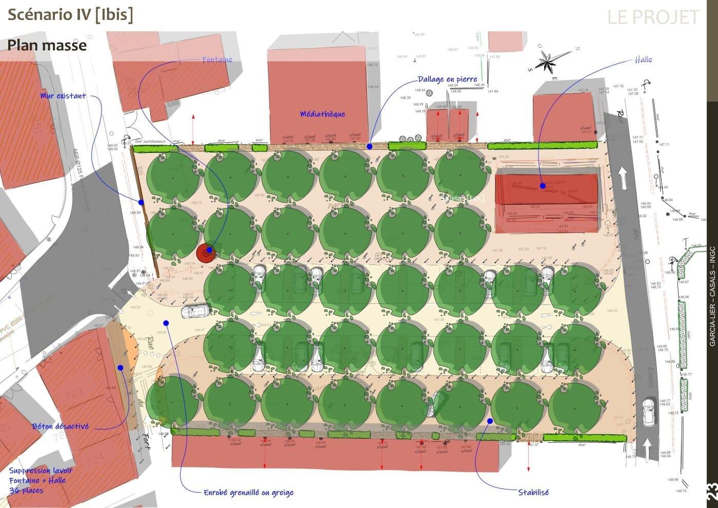 Plan masse AVP scénario 4