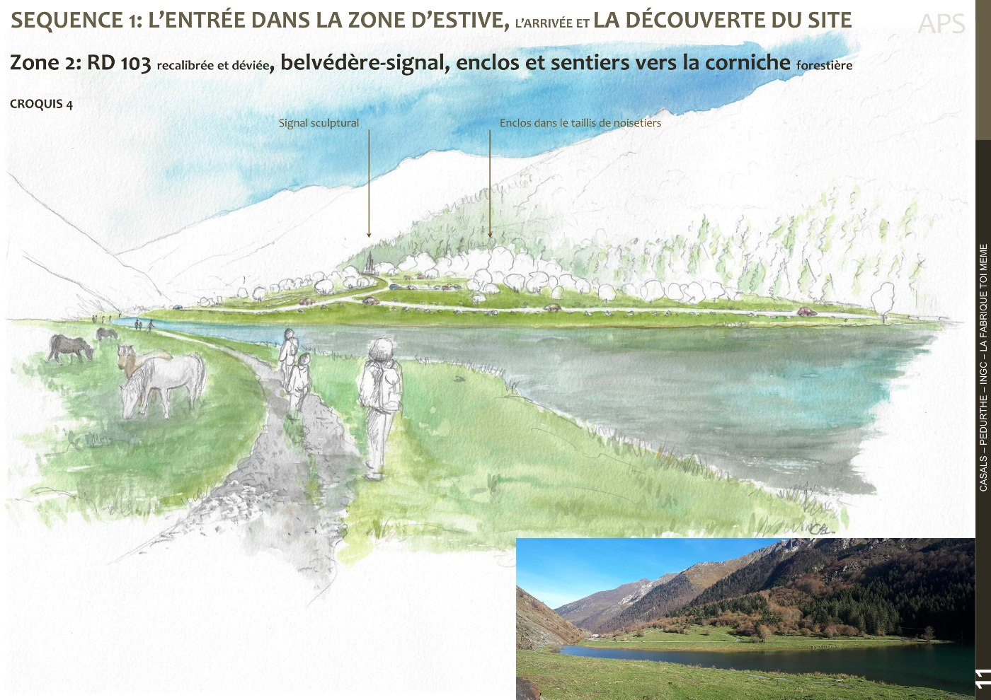 AVP, croquis d'ambiance zone 2